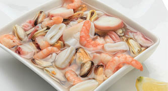 Seafood-Mix in brine