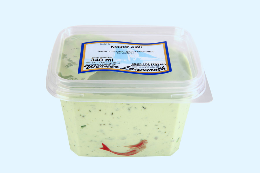 Aioli dip with herbs
