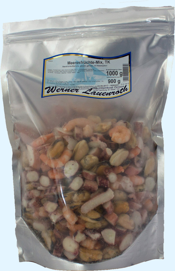 Seafood-Mix frozen, IQF